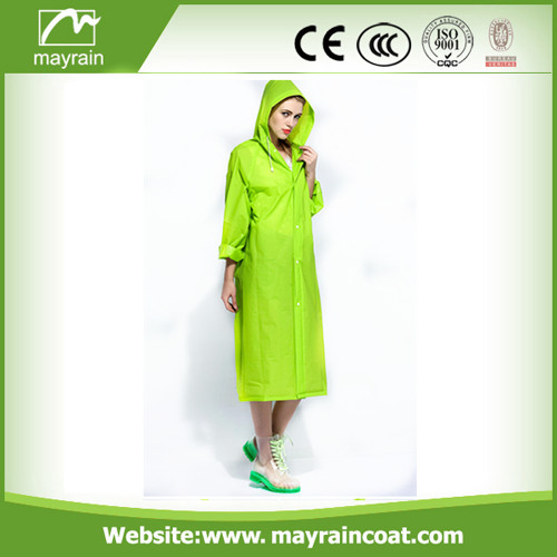 Bright Green PVC Rainwear