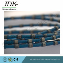 Plastic Fixing Diamond Wire Saw for Granite and Marble Block Squaring