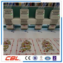 CBL высокая скорость 12 головки 9 игл плоская вышивальная машина