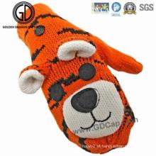 Crianças Crianças Animais Tiger Custom Winter Warm Gloves