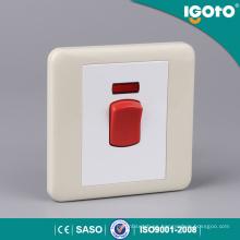 45A Interruptor de pared eléctrico para el hogar