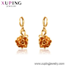 96533 xuping jewelry copper alloy three-dimensional flower eardrops fashion earring