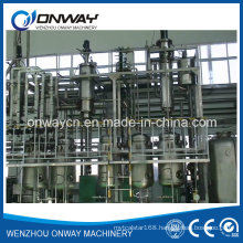 Tfe High Efficient Energy Saving Factory Price Wiped Rotary Vacuum Used Engine Oil Rotary Evaporator Price