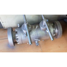 Flanged Trunnion Dbb Ball Valve (DBBQ41N)