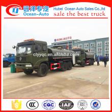 China fabricante 9000 litros camión de bomberos 6x6