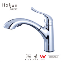 Haijun 2017 Fashion Thermostatic Brass Single Handle Pull Out Kitchen Faucet