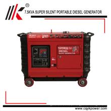 5kw 6kw 7kw 8kw 9kw 10kw Pequeno Gerador de energia super silencioso Gerador Diesel portátil Portátil para Venda