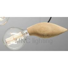 Hot sale Edison Bulb With Wooden Hanging Light Pendant Lighting
