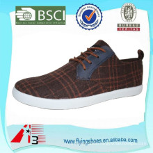 factory OEM canvas cheap men shoes