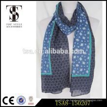 Leichter langer Art und Weisebaumwolldame-Schal perfektes Geschenk für Mädchen