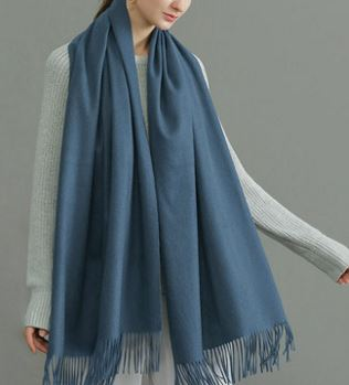 70% Wool 30% Cashmere Woven Throw