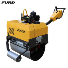 Switch Control Manual Hydraulic Pump Road Roller For Road Use