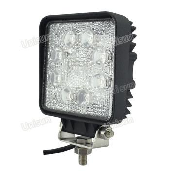 10-80V 4inch 24W 8X3w LED Luz de trabajo para Folklift