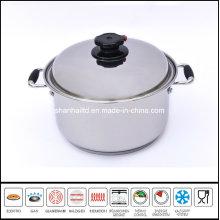 Stainless Steel Deep Saucepot Soup Pot