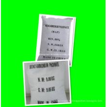 Engrais de phosphate de dihydrogène d'ammonium, usine de haute qualité de carte de prix 12-61-0