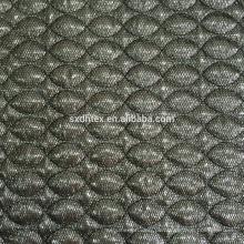 thermische Stoff, mesh 3 Schichten Quilten Stickerei-Stoff mit Tuch