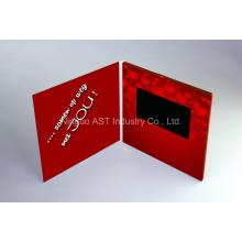 7.0inch Customized videokaart, Video Groet Brochure, Card LCD Uitnodiging