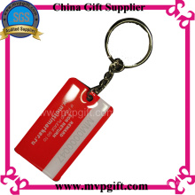 Stainless Steel Key Chain with Print Logos