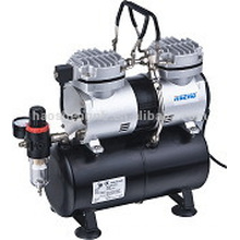 Hseng AS196 double cylinder compressor