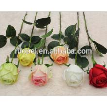 Alta qualidade artificial rosa buquês de flores para casamento e paisagem