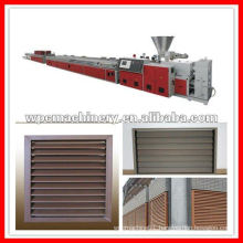 wpc shutters production line