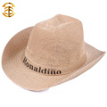 Factory Direct Supply Wholesale Hats Plain Straw Hat For Men