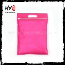 Ultrafine non tissé sac de rangement à glissière de haute qualité