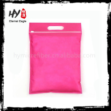 Saco de armazenamento de zíper não tecido ultrafino com alta qualidade