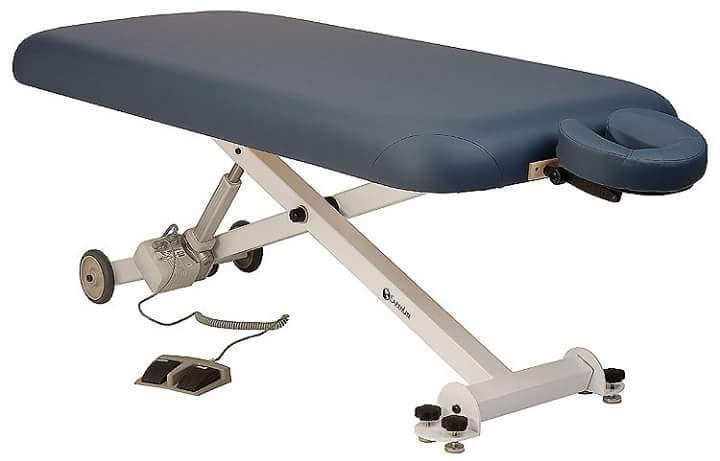 motor drive for massage tables