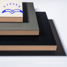 1mm black texture hardboard for wall panel prices with ISO certificate