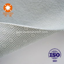 Customized nonwoven felt for carpet underlay