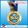 2014 Neue kundenspezifische Sportmedaillen Gold Taekwondo Medaille mit Epoxy gewölbt (lzy-201300046)