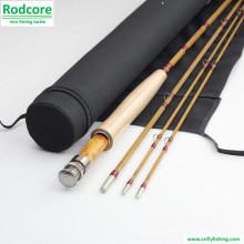 7ft6in 3piece 4wt Split Bambus Fliegen Rod