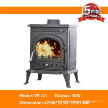 Stylish Cast Iron Stove for Room Heating