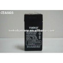Bateria recarregável acidificada ao chumbo