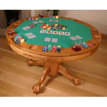 Solid Wood Poker Table (ITEM 201)