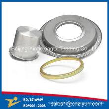 Benutzerdefinierte Runde Metall Kutten von Spinning Processing