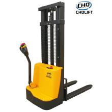 Supply for Electric Forklift Stacker Truck 1.2T Full Electric Reach Truck supply to Cuba Suppliers