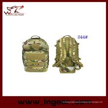 Morral de camuflaje táctico del ejército para senderismo bolsa Airsoft # 044