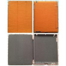 Naranja personalizar cáñamo lona tableta PC caso para el iPad mini caso de aire (c-002)