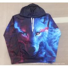 Skywolf digital printing hoodie