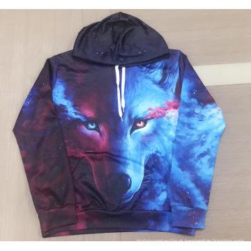 Hoodie de impressão digital Skywolf