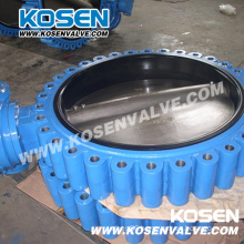Full Lug Wafer Cast Iron Butterfly Valve (D371)