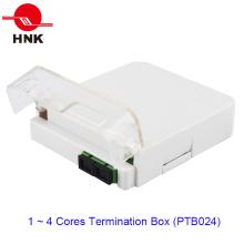1 ~ 4 Cores 1 Porta Fibra Óptica Caixa Terminação do Cabo (PTB024)