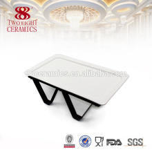 Wholesale ceramic dishes for buffet appetizer snack serving dish
