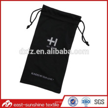 soft pouch,microfiber drawstring sunglasses cleaning pouch,logo print microfiber optical cleaning pouch