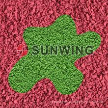 Sunwing preços de grânulos de borracha reciclada