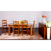 551RC Range Solid Oak Dining Room Sets/Dining Room Furniture