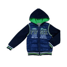 PU Boy Coat with Hood for Winter (BC001)
