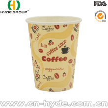 Disposable Drinking Coffee Paper Cup 8oz with Lid